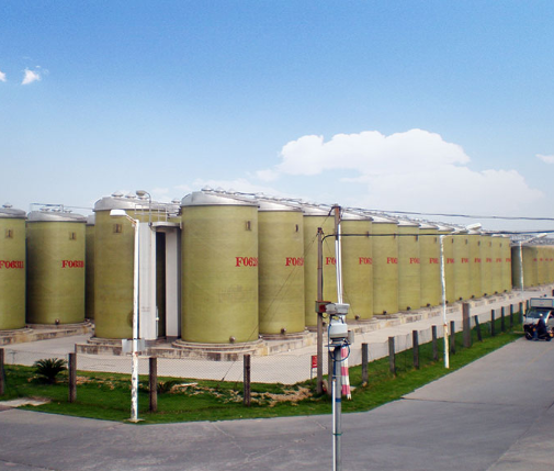 High Strength Fiberglass Storage Tank, Good Tightness Fiberglass Septic Tank, Heat Insulation Fiberglass Storage Tank