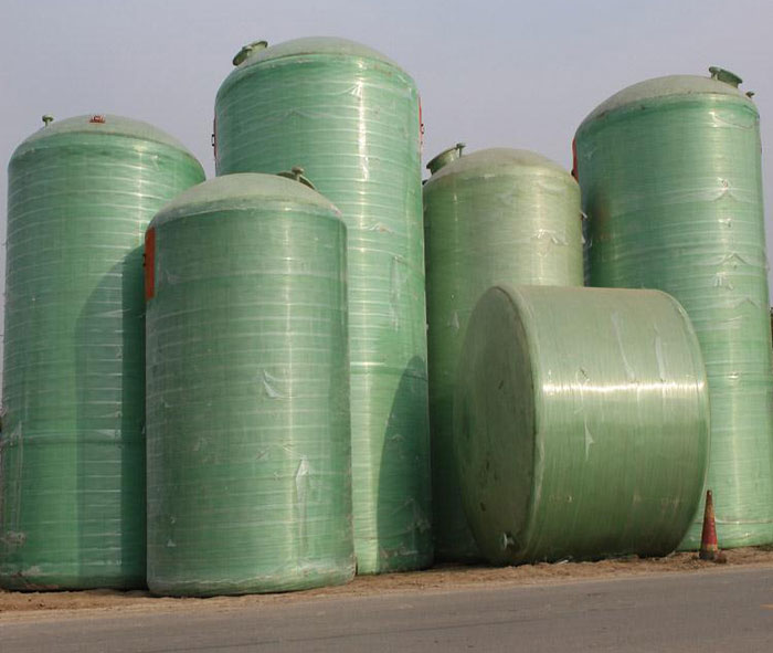 Fiberglass Storage Tanks For Chemical