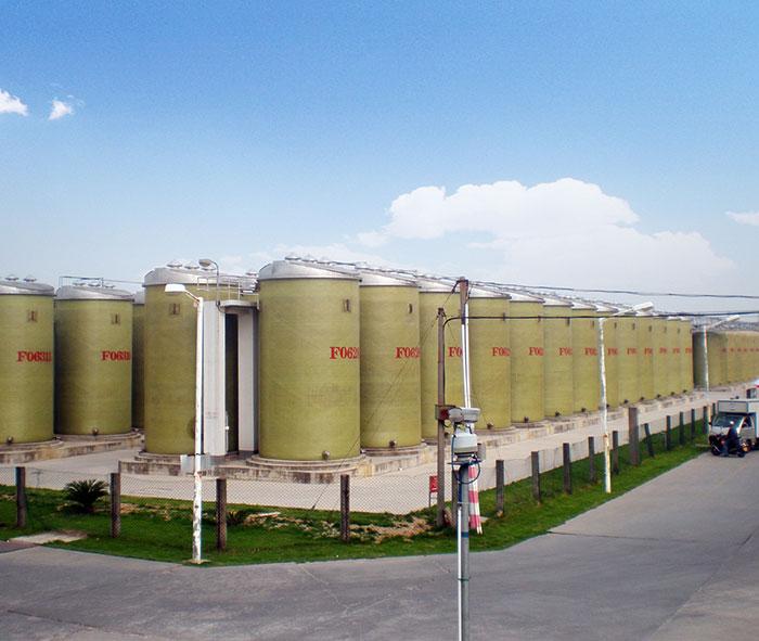 Long Life Fiberglass Storage Tank