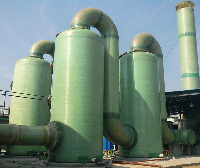 Fiberglass Desulfurization Tower