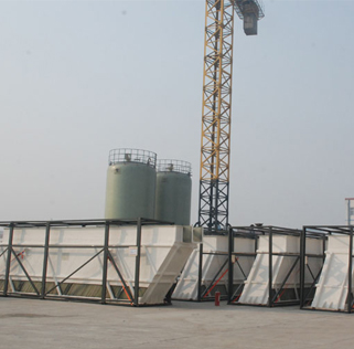 The settling tank produced by the Company for CITIC