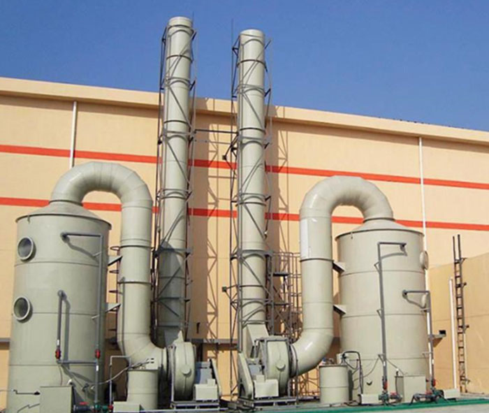 FRP Acid Mist Purification Tower