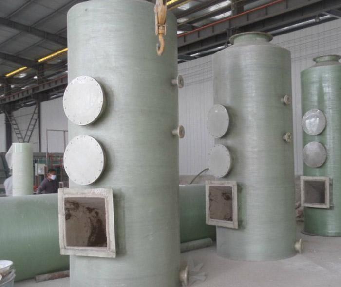 FRP Desulfurization Tower