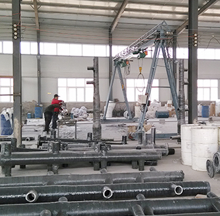The cold-rolled project of Jiuquan Steel