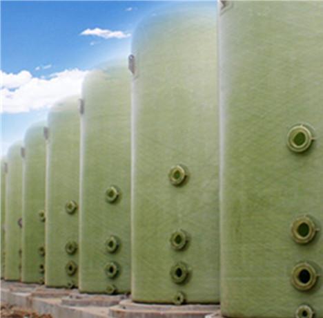 Forming Method Of FRP Storage Tank