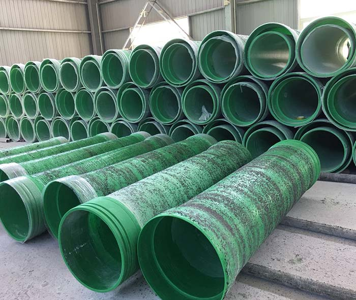 FRP Cement Mortar Pipe